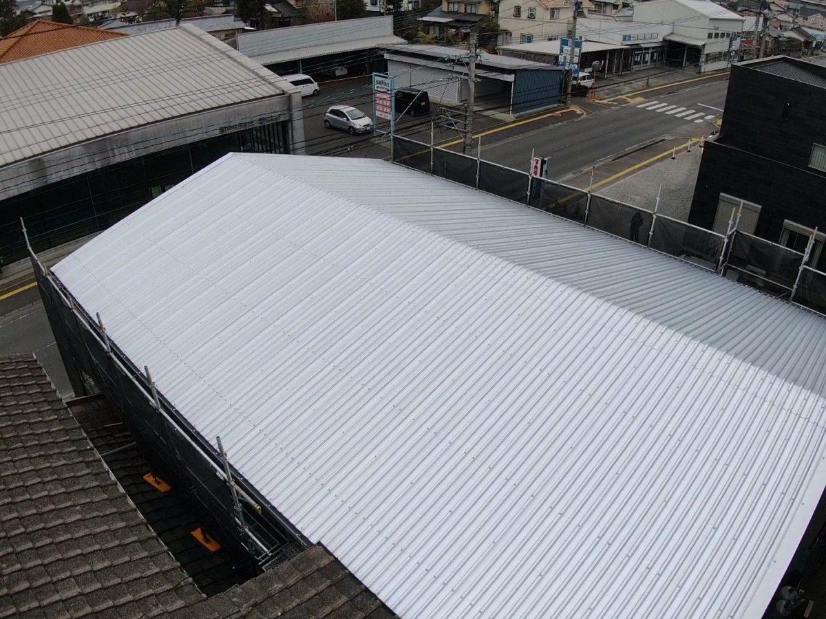 スレート屋根カバールーフ